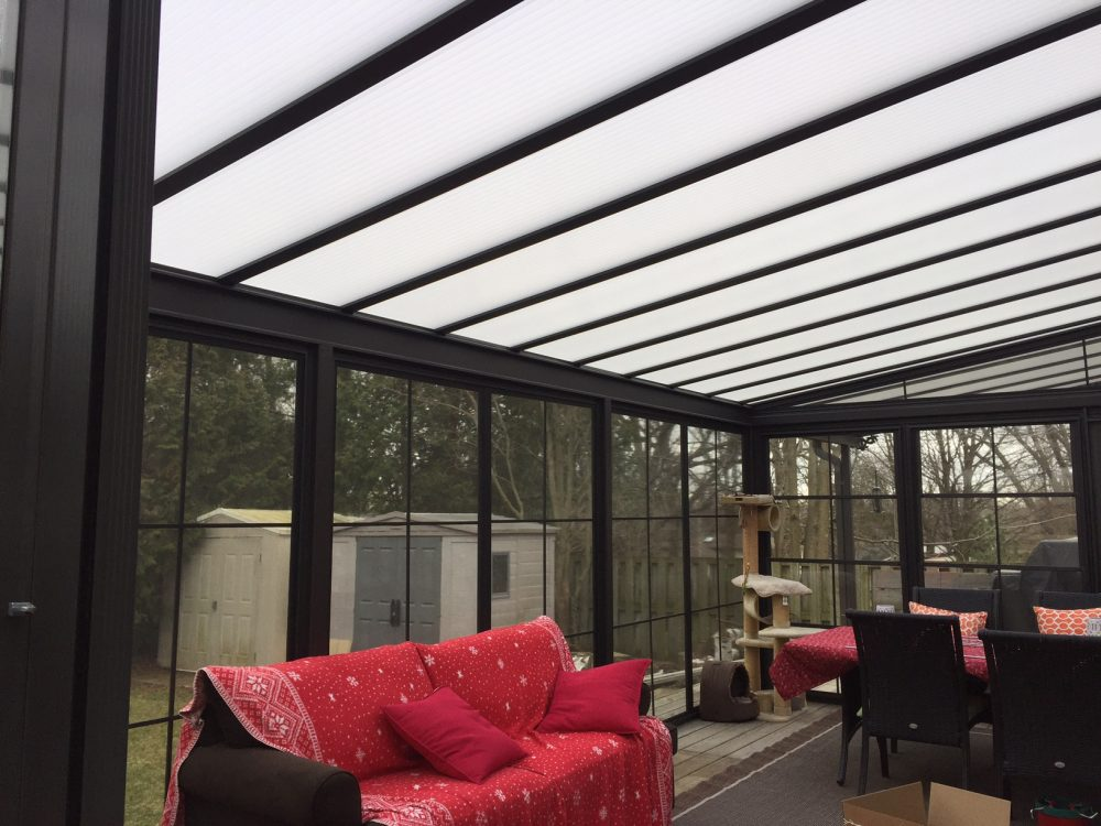 Acrylic Roofs in Oakville|Burl-Oak Screen Sunrooms