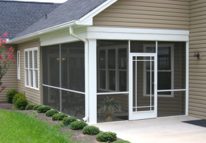 Swinging Screen Doors|Burl-Oak Sunrooms Milton